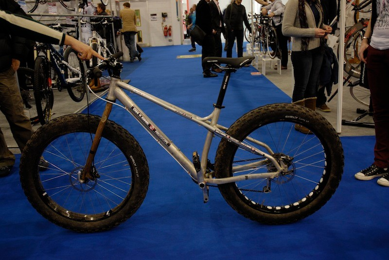 On-One were showing this fat bike prototype
