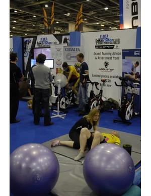 If you're at the London Bike Show, drop by BikeRadar's Training Hub