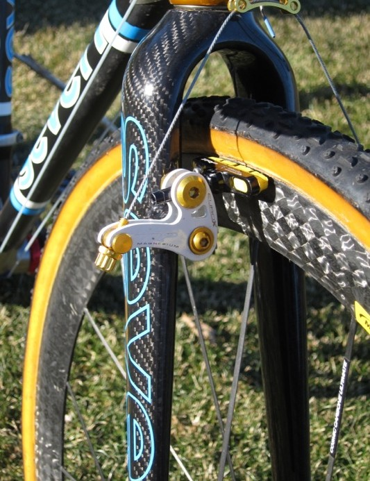 Bruno-Roy sticks with TRP's old-school EuroX Mag wide-profile brake