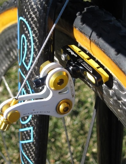 SwissStop Yellow King pads for the TRP EuroX brakes