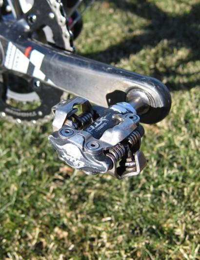 Shimano's stalwart XTR M970 pedal