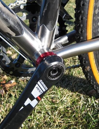 The Red GXP ceramic bottom bracket