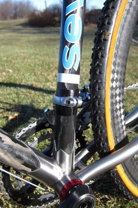 Seven Cycles Bike frame logo end plugs Seven Cycles handlebar bike caps Seven