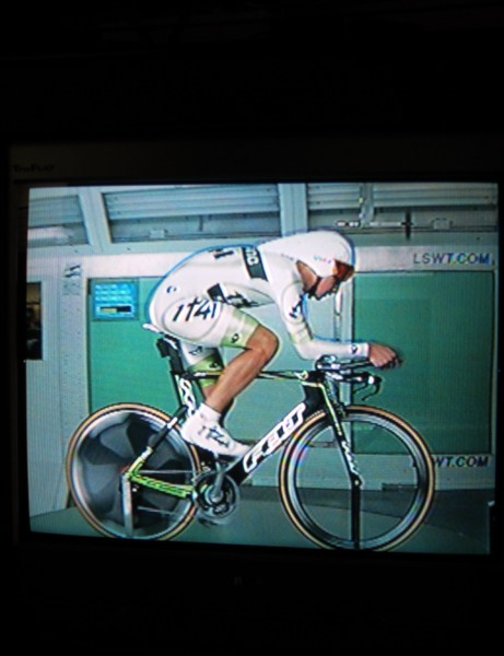 It seems strange to draw directly on a video screen but it's a technique that's widely accepted - and apparently very useful - at the San Diego Low Speed Wind Tunnel