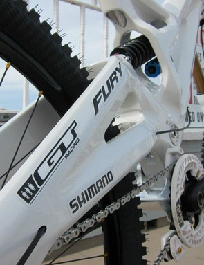 The team will be using stock GT Fury frames
