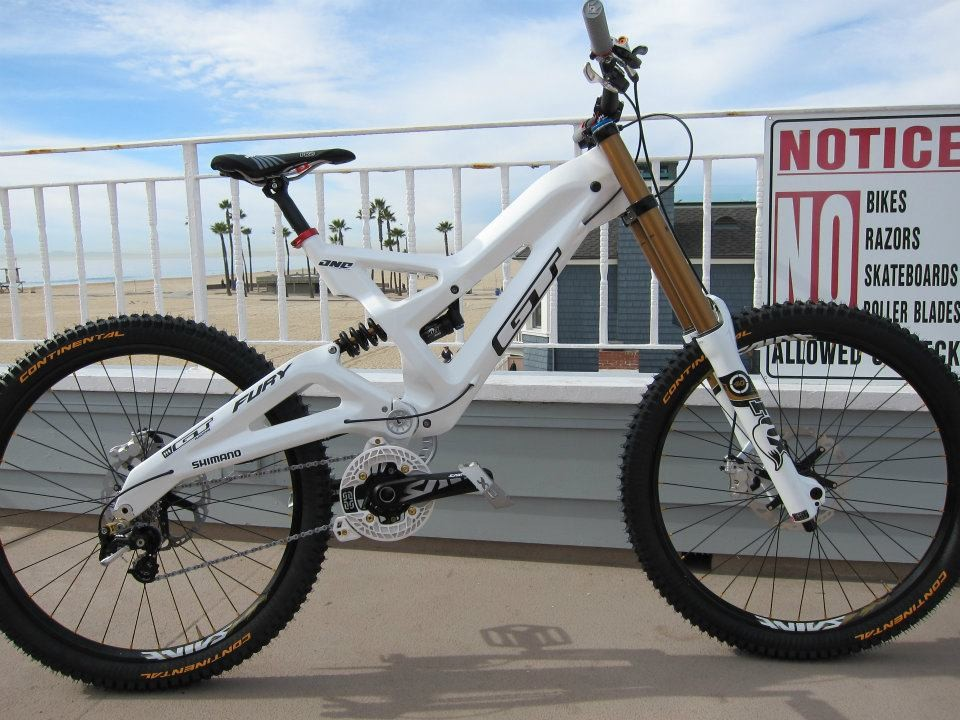 7bf2c944857 Gee Atherton's GT Fury downhill bike – First look - BikeRadar