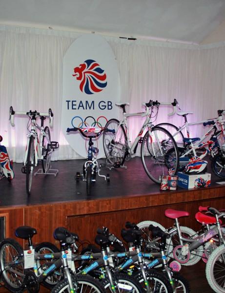 Dawes' Team GB range