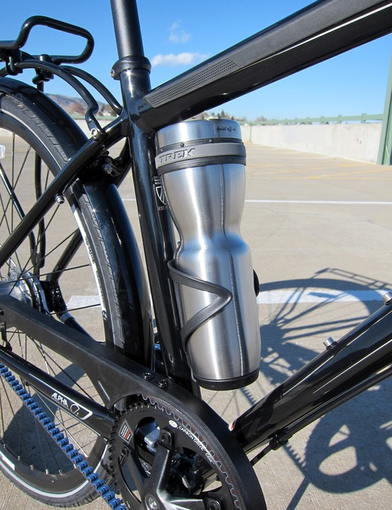 The Trek Soho mug isn't actually included with the bike but it's a perfect accessory for such a rig