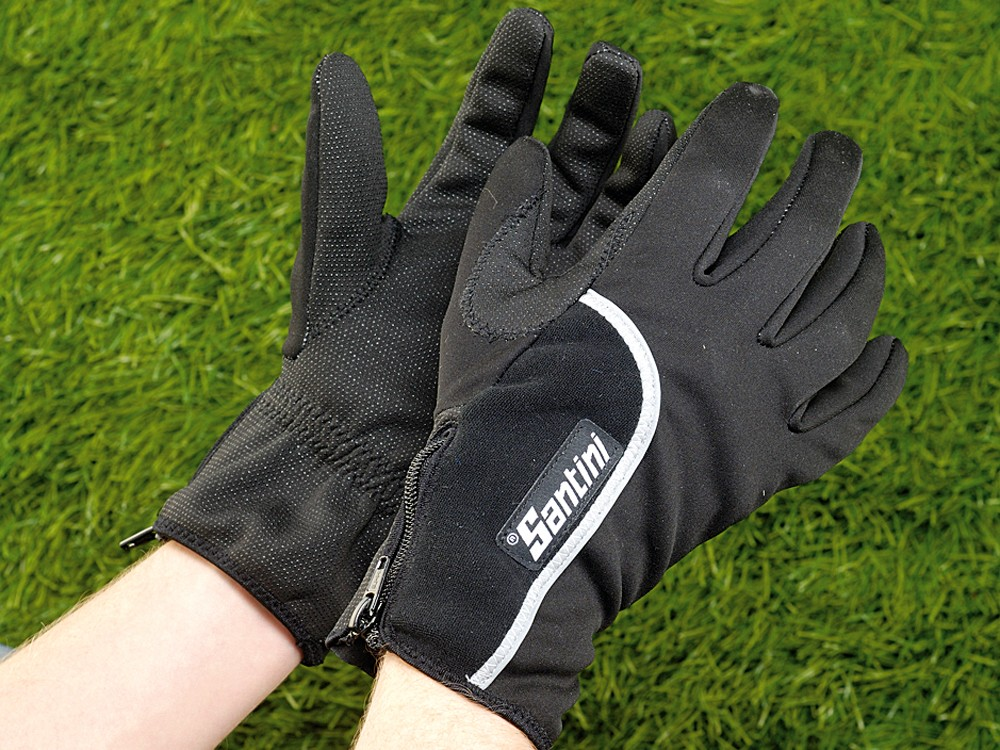 Santini 365 Windstopper winter gloves