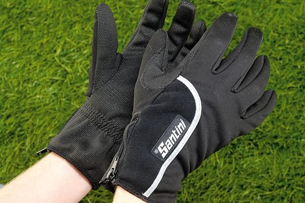 Santini 365 Windstopper winter gloves