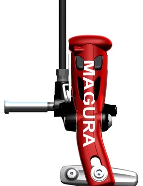Magura looks to have done a good job of neatly packaging all of the hydraulic bits into a reasonably compact shape