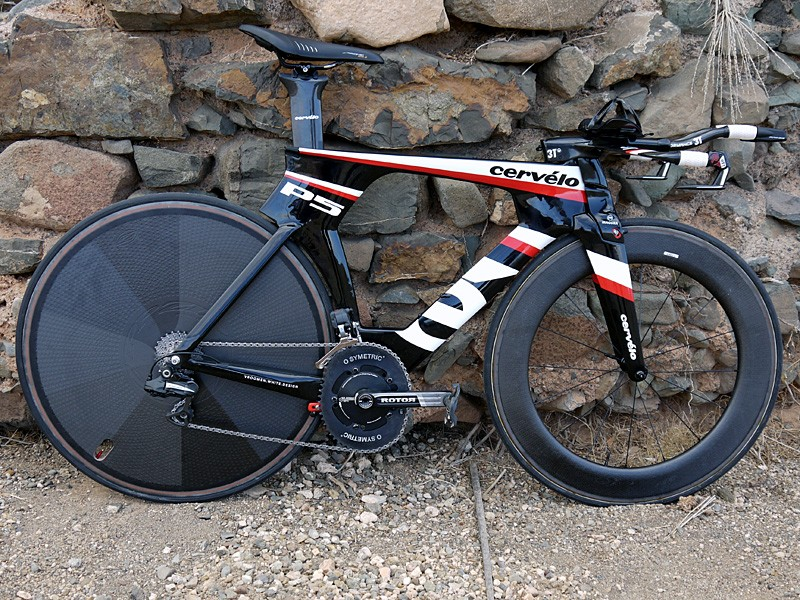 The Cervelo P5 - the non-UCI legal version