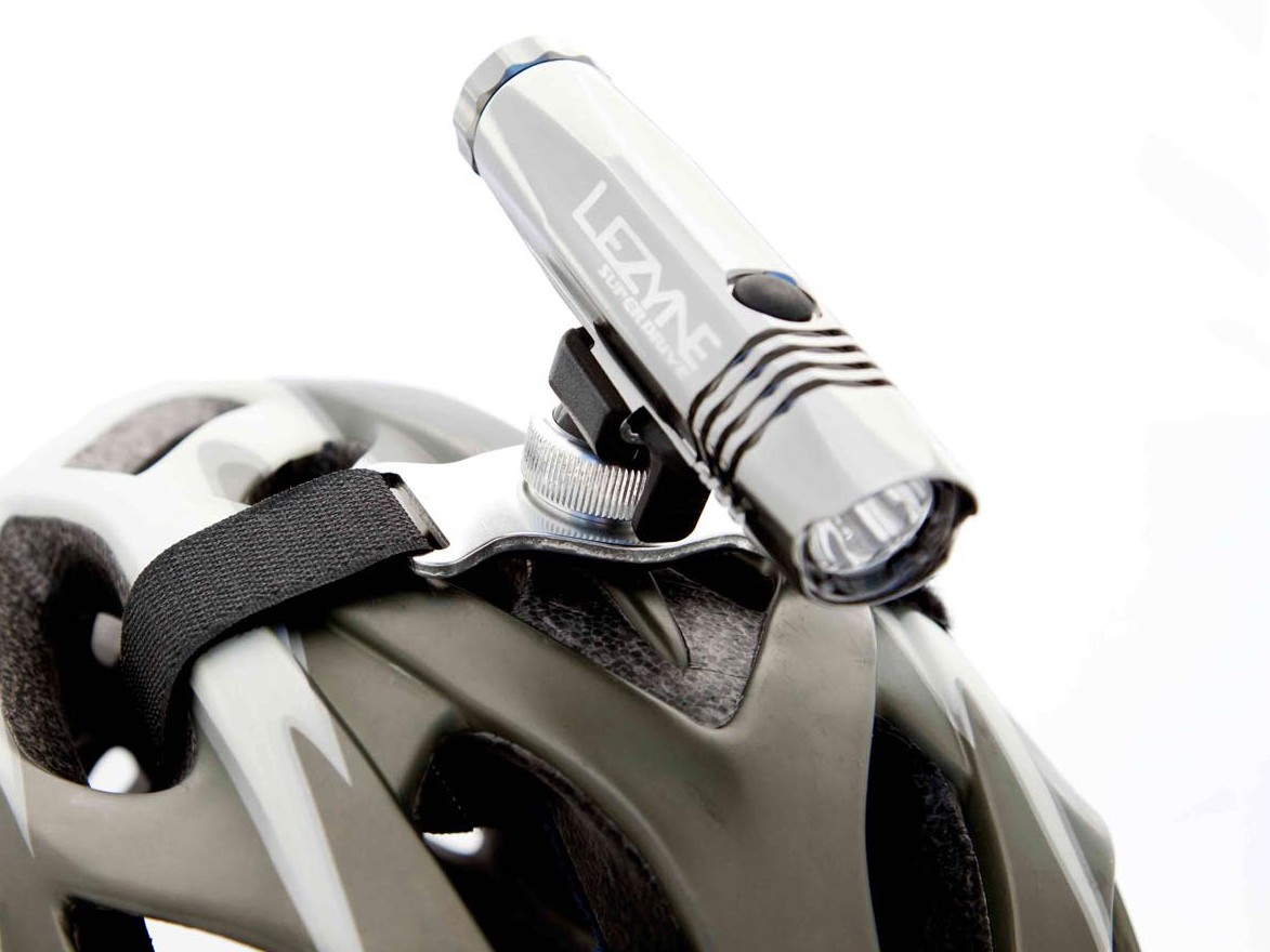 Lezyne's new helmet mount will be compatible with all their LED lights