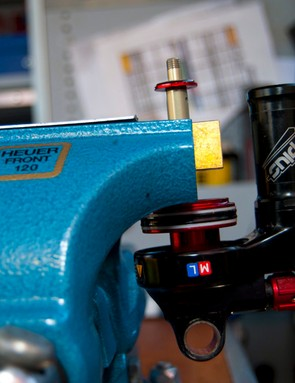 A customised shock tune is a great way to improve the performance of any full-suspension bike