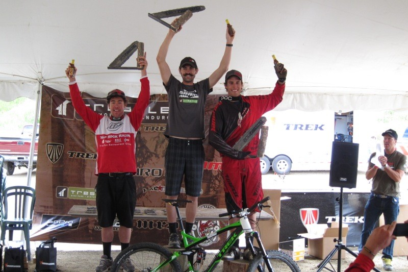Ross Schnell won the 2011 Trestle All-Mountain Enduro, an event he helped found