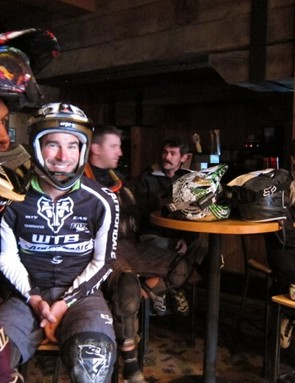 Schnell helped bring America's enduro stars to the event, including Matt Slaven (l) and Mark Weir