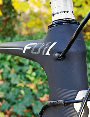 The cables are neatly routed out of the wind. The name comes from 'airfoil'  and the original project name 'F01'