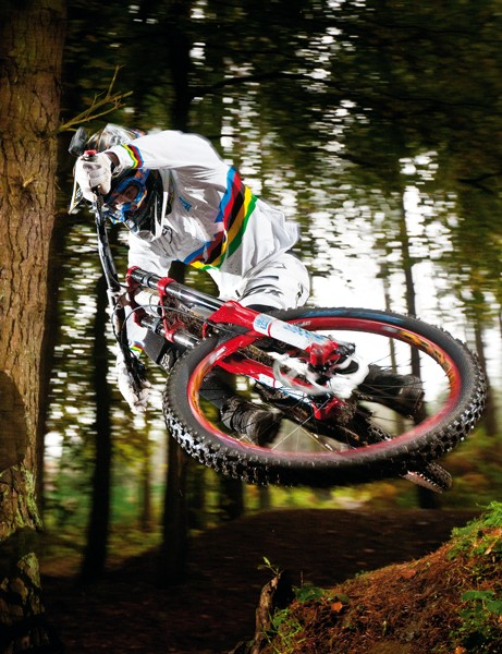 Danny's World Champs run at Champery in Switzerland last year saw him not only secure the fabled rainbow stripes but also cement his position as the most technically gifted and stylish downhill racer in the world