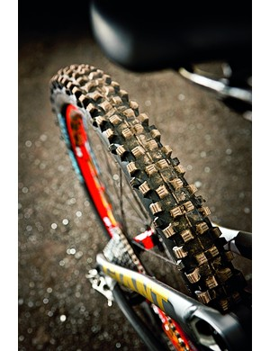 Custom-named tyres use a custom-made compound for the World Champs