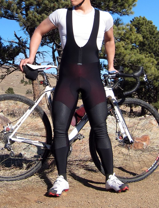 The Capo Padrone Winter Tights are extremely warm and come with an excellent chamois but the fit around the hips and knees could stand some refinement