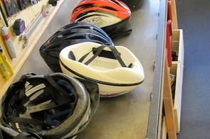 Older single material, and less advanced helmets are said to be the easiest to recycle