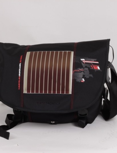 Sci'Con's Solar Genome sports a solar panel on its front flap