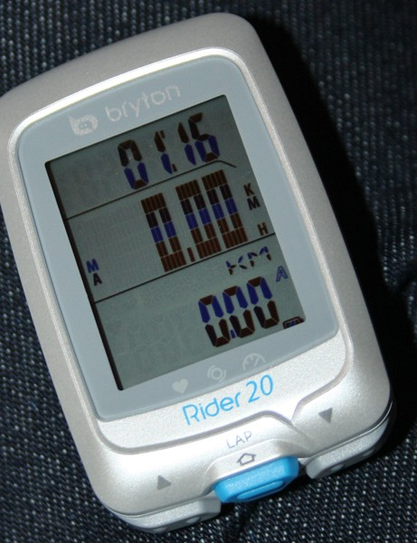 Bryton Rider 20 GPS computer