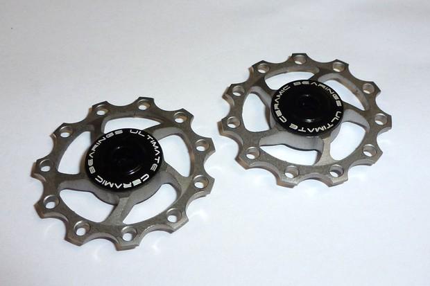 Ultimate Ceramic Bearings titanium jockey wheels
