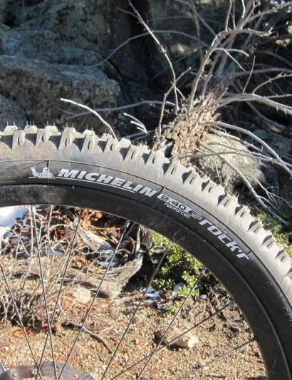 Michelin's WildRock'r 2.4in trail tire