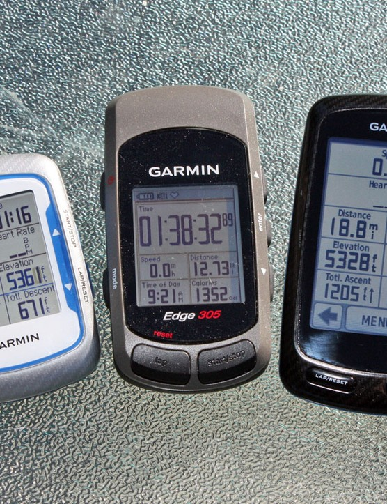 The Garmin Edge 800 is by no means heavy but we still hope for its successor to be smaller and lighter without sacrificing display size