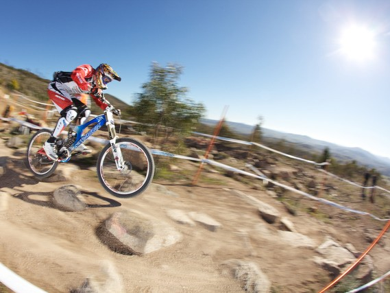Steve Peat has used RockShox suspension for the past 16 years and it's taken him to World Cup and World Championship wins as well as countless podiums