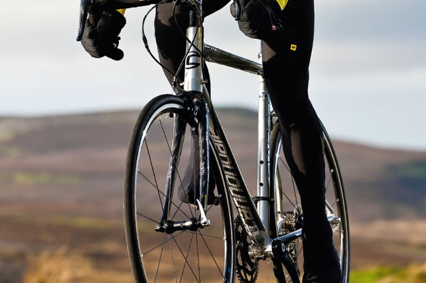 While it might feel softer than some through your gloves and shorts, the Synapse still feels usefully sharp and responsive through the pedals