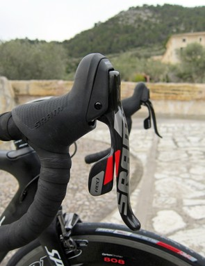 As before, the shift paddles and brake lever blade reach are independently adjustable