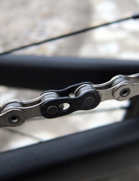 SRAM's familiar 10-speed chains will carry over for 2013