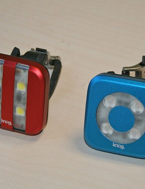Knog Blinder (front on right)