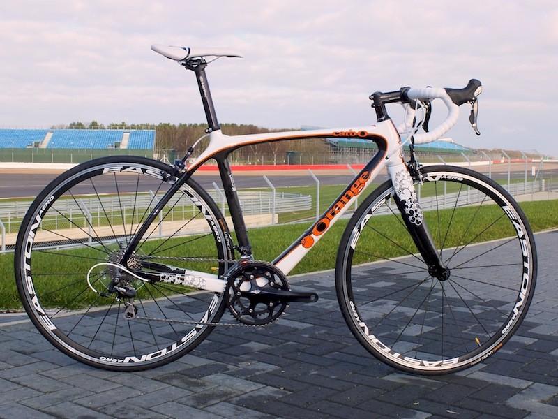 Orange Carb-O limited edition road bike