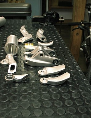 Mark Hopkins is in charge of all the Oneten29's CNC-machined bits