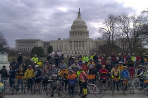 The Congressional bike ride at the 2011 National Bike Summit
