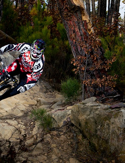 Steve Peat on his new V-10
