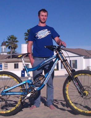 Al Bond, here with the team's Nukeproof Scalp, joins from Don Skene Cycles