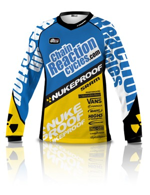The 2012 Team CRC/Nukeproof kit