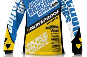 The 2012 Team CRC/Nukeproof kit