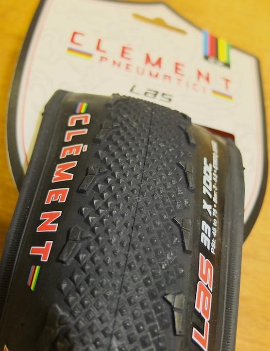 Clément LAS semi-slick cyclo-cross clincher