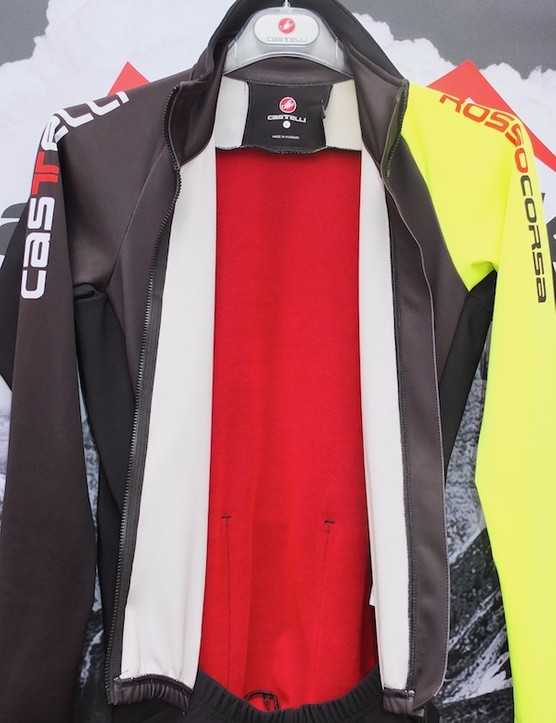 Fleecy lining and Windstopper panels keep warmth where you need it