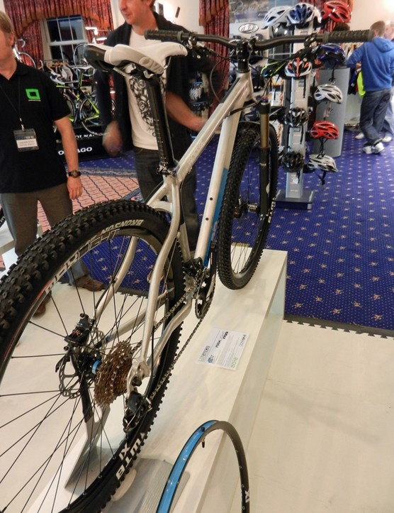 The new Maxlight FF29 29er, on display at the UK's Core Bike Show