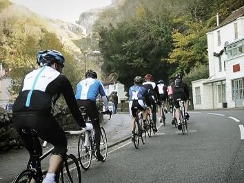 The Cheddar Gorge climb was part of last year's Tour of Britain