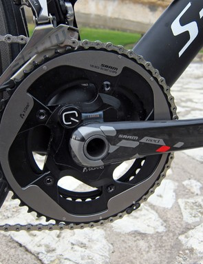 The SRAM Red Quarq power meter is now the flagship power measuring device in the company range. The new spider design will eventually make its way into other Quarq models but there is no timeline set at the momen