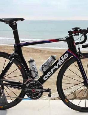 New Garmin-Barracuda rider Thomas Dekker will race this year on a new Cervelo S5