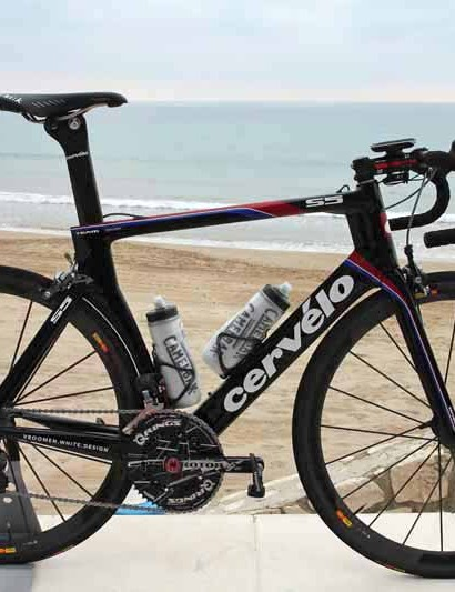 New Garmin-Barracuda rider Thomas Dekker will race this year on a new Cervelo S5