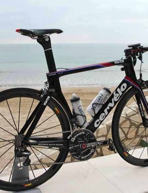 Cervelo say the S5's shape was specifically engineered in the wind tunnel to decrease aerodynamic drag